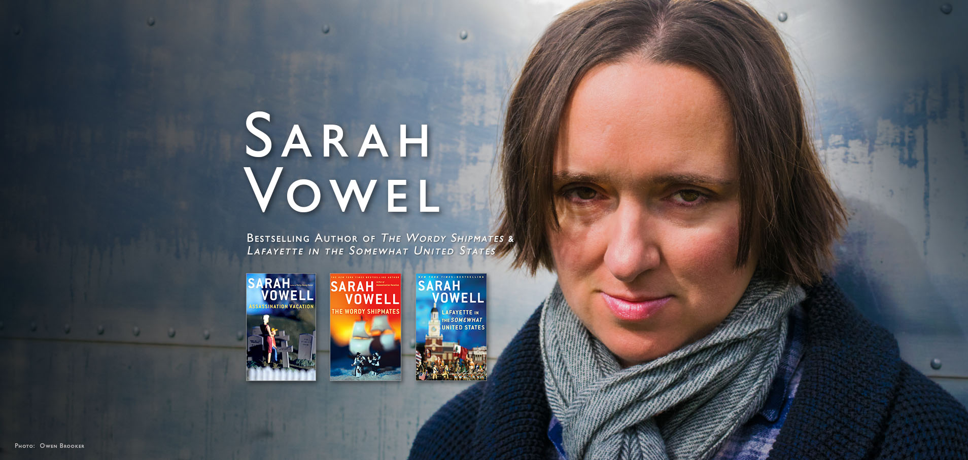 sarah vowell shooting dad thesis